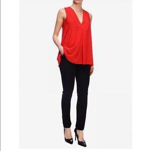 Halife NWT women's sleeveless tunic blouse